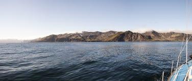 海岸海岛1月mayen海运 图库摄影