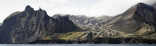 海岸海岛1月mayen海运 库存图片