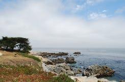 海岸海洋太平洋 图库摄影