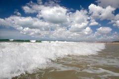 海岸海洋 库存照片