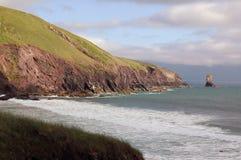 海岸爱尔兰语 库存照片