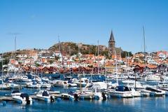 海岸瑞典 图库摄影
