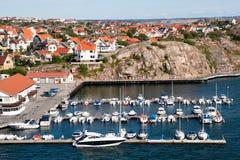 海岸瑞典 免版税库存图片