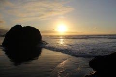 海岸的心脏 免版税库存图片