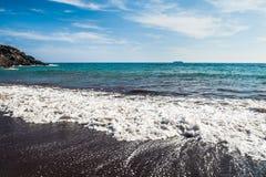 海岸的美丽的景色 免版税库存图片
