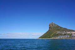 海岸的美好的风景在开普敦,南非 库存照片