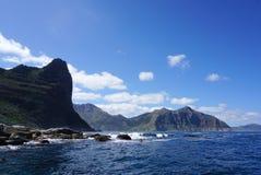 海岸的美好的风景在开普敦,南非 库存图片