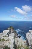 海岸的美好的风景在Capepoint的在开普敦 免版税库存图片