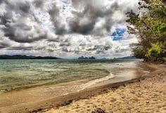 海岸种类海洋 免版税库存图片