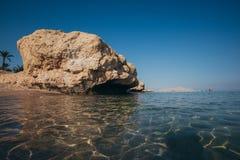 海岸红海 埃及 免版税图库摄影