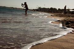 海岸红海 免版税库存照片