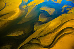 海岸纳米比亚概要 免版税库存照片