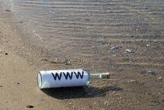 海岸线万维网 免版税库存图片