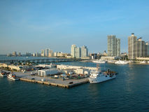 海岸线佛罗里达 库存照片
