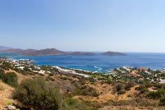海岸线克利特希腊 图库摄影