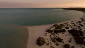 海岸线和海滩 股票录像