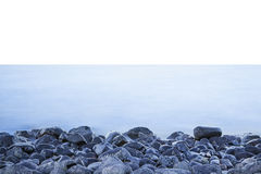 海岸线在丹麦 免版税库存图片