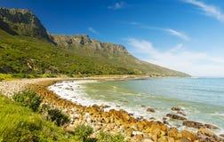 海岸线在南非 图库摄影