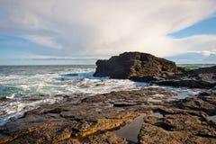 海岸线在爱尔兰 免版税库存照片