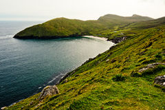 海岸线在爱尔兰 库存图片