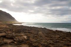 海岸线夏威夷人 免版税库存图片