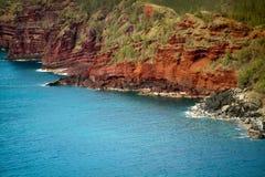 海岸线夏威夷毛伊 库存图片