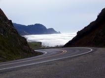 海岸线太平洋 库存照片