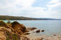 海岸线希腊 免版税库存图片