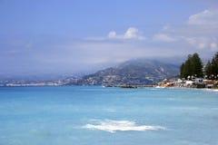 海岸线意大利语 库存照片