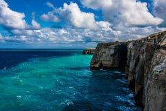 海岸线戈佐岛 库存照片