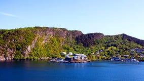 海岸线挪威 免版税库存照片