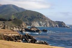 海岸线海洋太平洋 库存图片