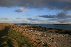 海岸线爱尔兰语 免版税库存照片