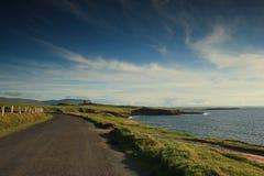 海岸线爱尔兰语 免版税图库摄影