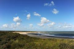 海岸线荷兰语 库存照片
