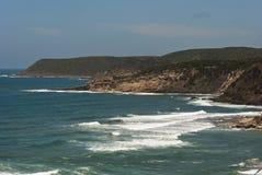 海岸线西方的撒丁岛 库存图片