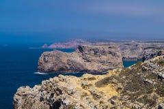 海岸线阿尔加威葡萄牙 库存图片