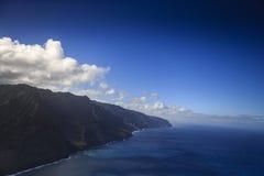 海岸线,考艾岛 免版税图库摄影