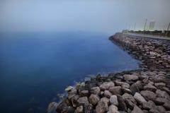 海岸线 免版税图库摄影