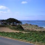 海岸线epine法国l端口 图库摄影