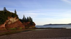 海岸线martins st 库存图片