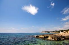 海岸线med 图库摄影