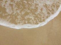 海岸线Seafoam 库存照片