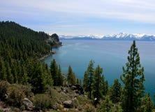 海岸线tahoe 库存图片