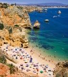 海岸葡萄牙 免版税库存图片