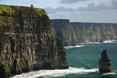 海岸西方爱尔兰的横向 免版税图库摄影