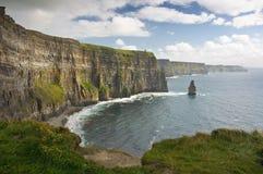 海岸西方爱尔兰的横向 库存照片