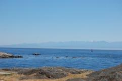 海岸西方的罗基斯 库存照片
