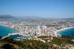 海岸西班牙语 免版税库存照片