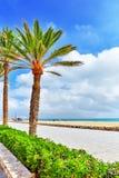 海岸西班牙 免版税库存图片